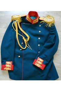Tunic of the staff officer of the Life Guard Preobrazhensky Regiment 1907 type Russia, Replica