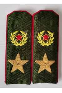 Ceremonial shoulder straps of the General of the Russian Air Force Army, Replica