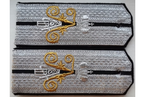 Shoulder straps Imperial Navy, Imperial Russian Army, Replica
