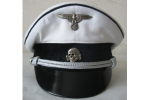 Cap Vizor Cap Parade Allgemeine SS officer (Germany) Replica