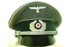 Cap Vizor Cap officer Wehrmacht Infantry Germany Replica