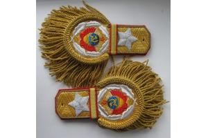 Эполеты генералиссимуса Советского Союза образца 1943 года, 2 копия