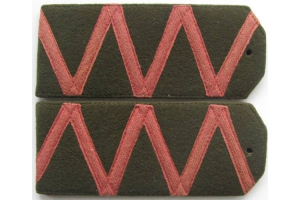 WW1 Shoulder straps of a Field General Russian Imperial Army, Replica
