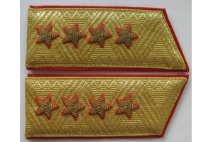 Shoulder-straps military General of the Army, M1970, Soviet Union, Repro