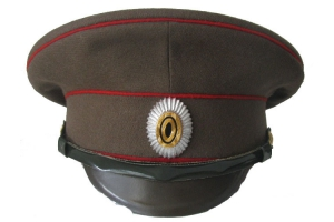 Imperial Russian Army Infantry Officer Service Cap, M1913, WW1, Repro