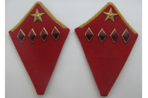 Insignia of the commander of the 1st rank of the red army, WW2, Repro