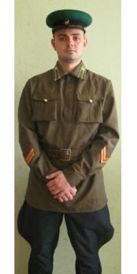 Форма нач состава НКВД ( лейтенант ПВ )  образца 1938 года, СССР, копия
