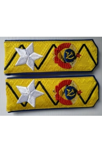 Shoulder straps Commissioner General of State Security type 1943 (shoulder straps Beria), Red Army, WW2, Replica